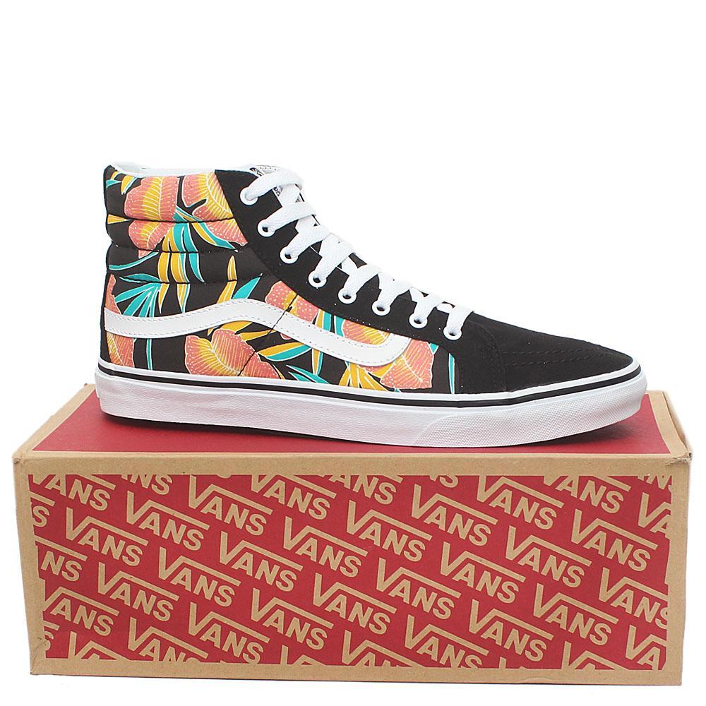 Vans Old Skool Black Mix Fabric Ankle Men Sneakers Sz 43