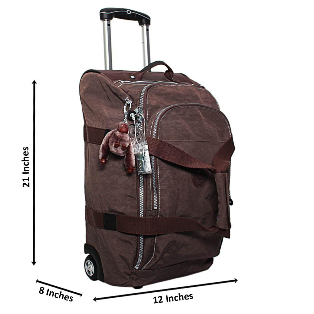 Brown Marcus 21 Inch 2-Ways Carry-On Luggage