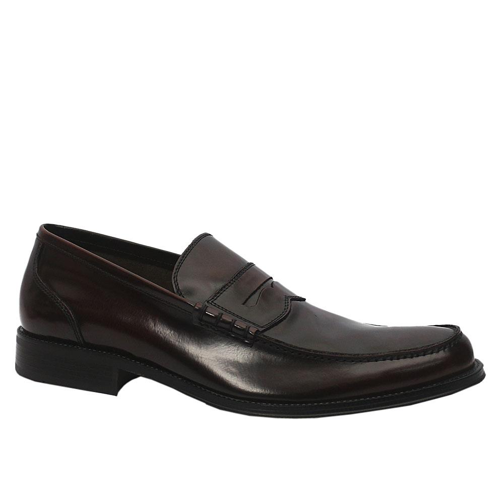 MII Blackish Brown Tiziano Leather Shoe