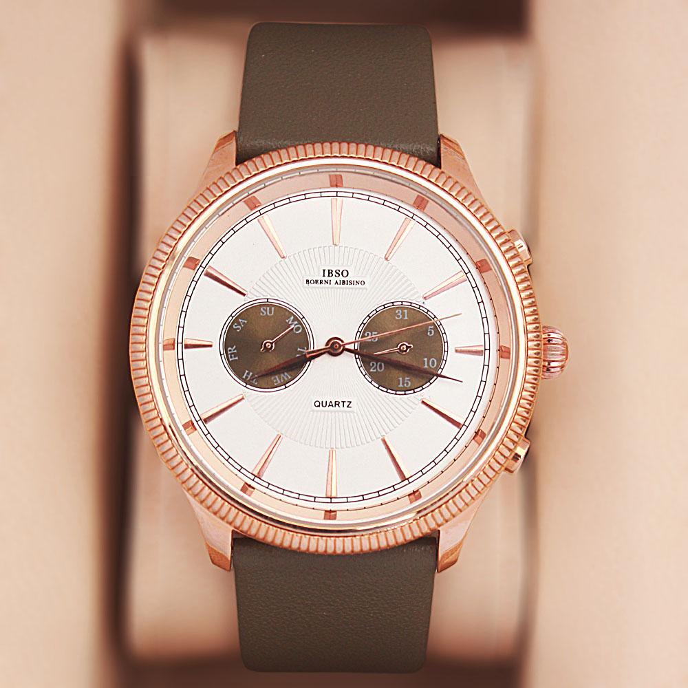 Boemi Aibisino Navigator Carmo Leather Watch