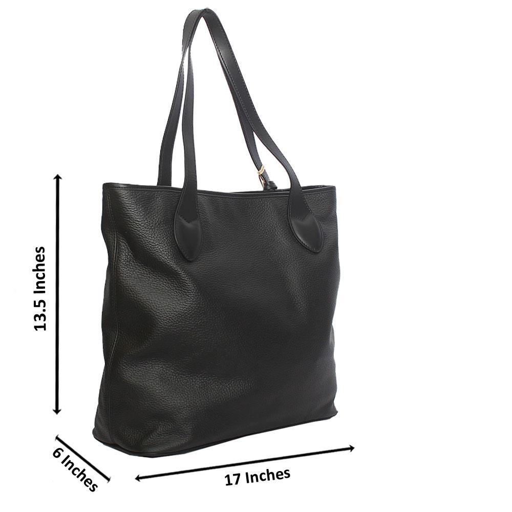 Timberland Black Cow-Leather Shoulder Bag