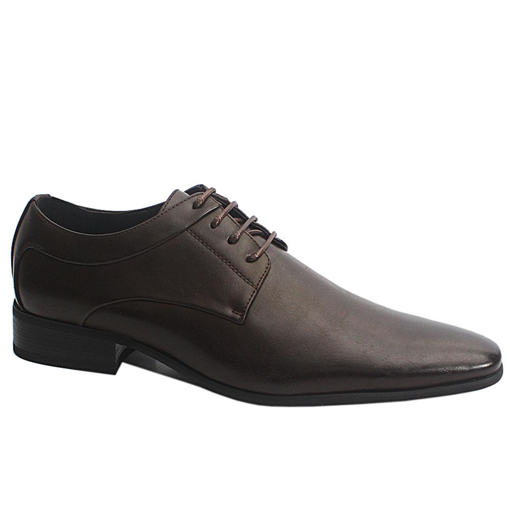 Coffee Brown Harold Leather Men Shoe