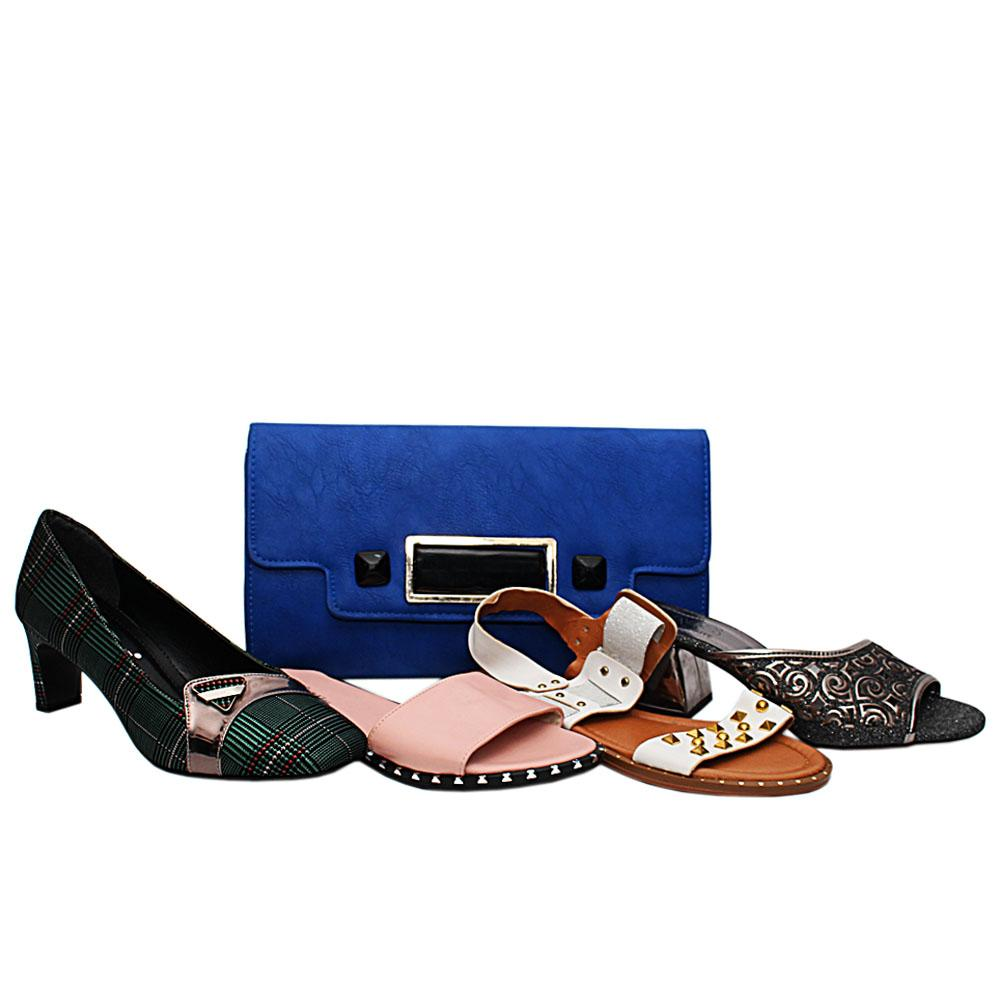Size 37 Luciana Shoe and Bag Bundle