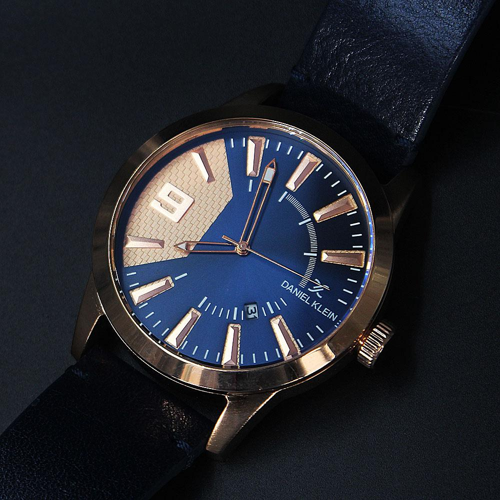 Rose Gold Navy Leather Fashion SeriesWatch