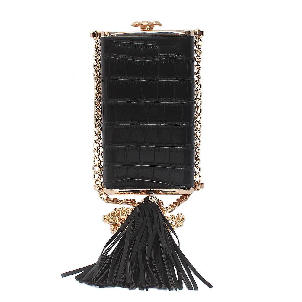 Black Oliva Celebrity Clutch Purse