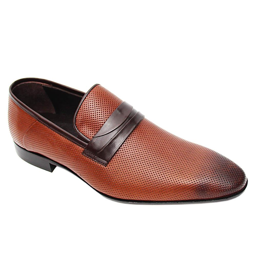 Brown Alvaro Italian Leather Loafers