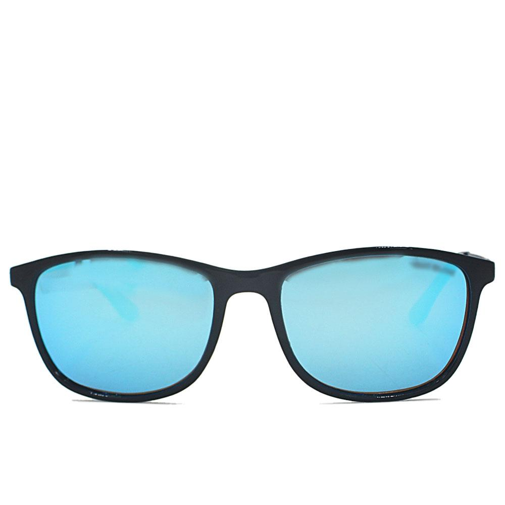 Black Blue Polarized Wayfarer Sunglasses