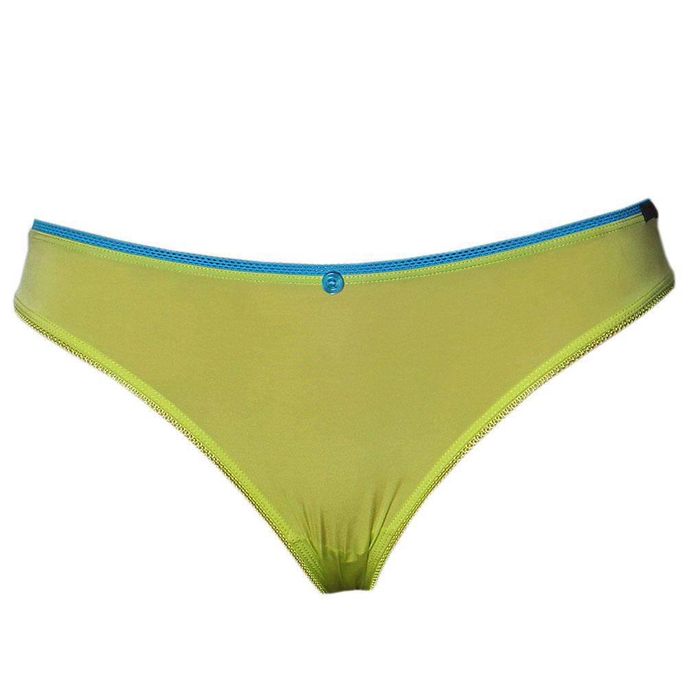 M & S Limited Collection Lemon Low Rise Bikini Brief Sz 12
