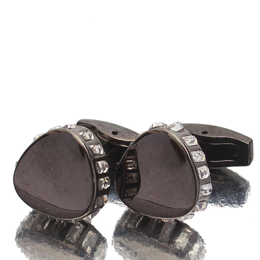 Black-Ice-Stainless-Steel-Cufflinks