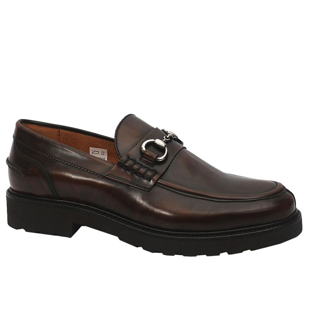 MII Blackish Brown Jacopo Leather Shoe