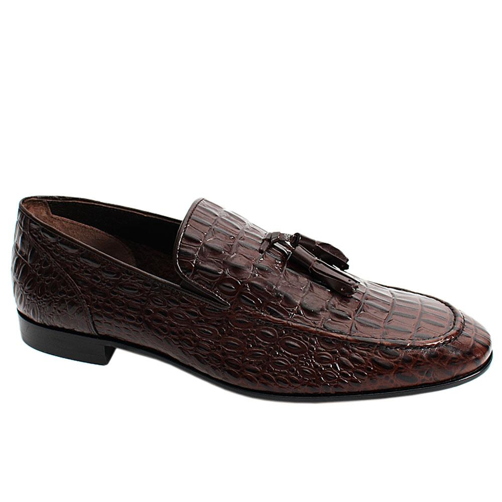 Brown-Alex-Croco-Italian-Leather-Men-Tassel-Loafers