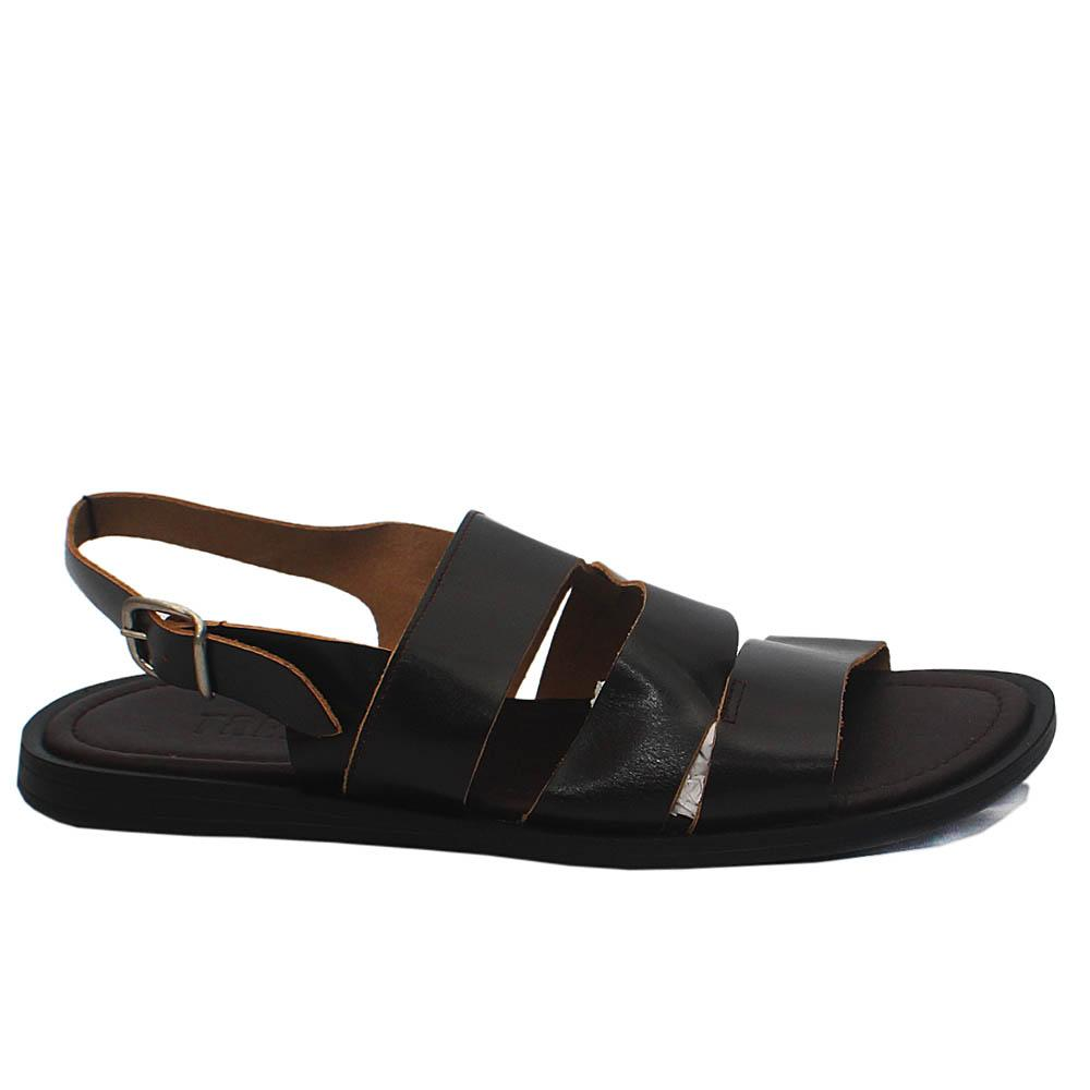 Pietro TRD Brown Leather Men Sandals