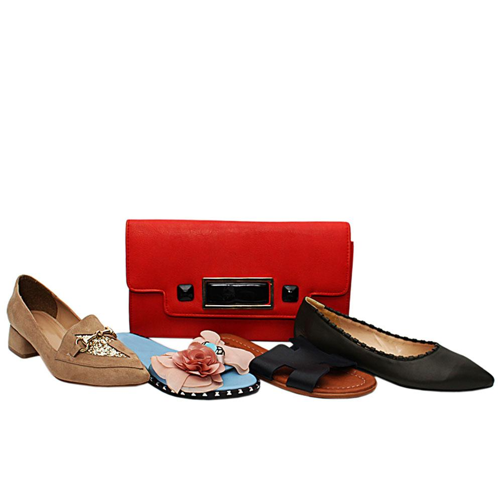 Size 37 Brooklyn Shoe and Bag Bundle