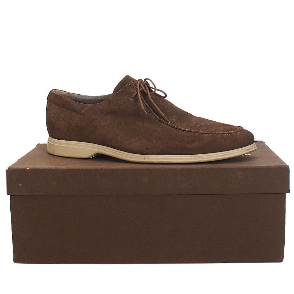 Marks--Spencer-Collezione-Brown-Suede-Leather-Men-Shoe