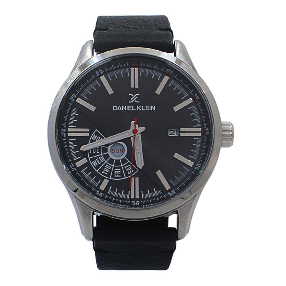 Javier Black Leather Fashion SeriesWatch
