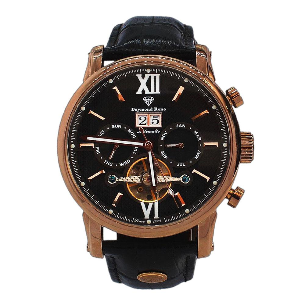 Bronze Coffee Leather Automatic Watch