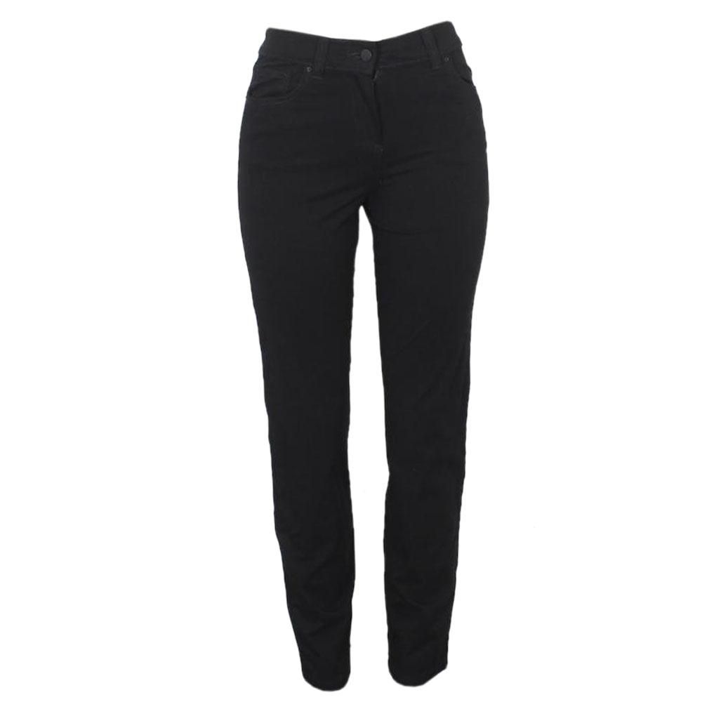Black Ladies Jean Trouser-M