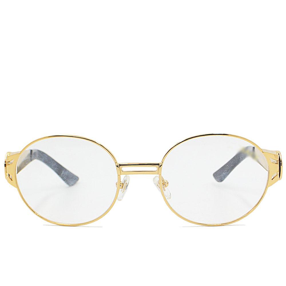 Gold Oval FGlasse