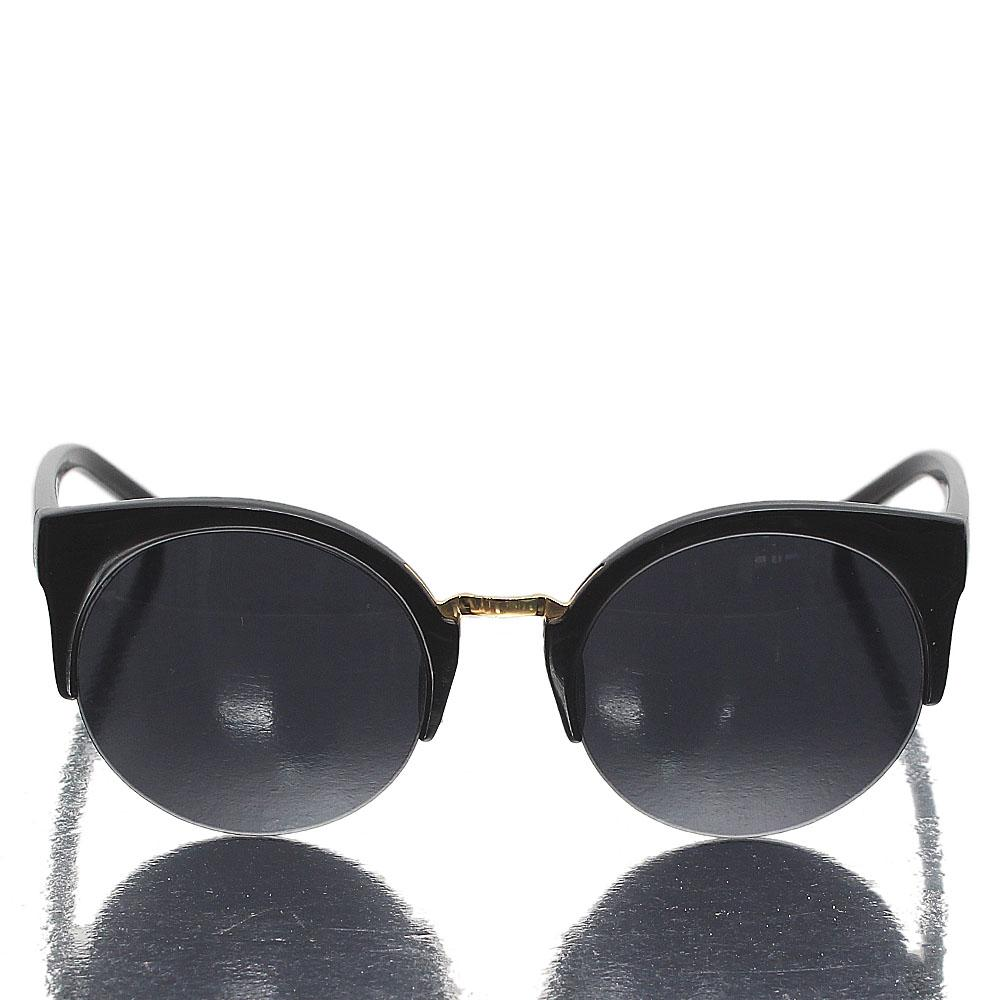 Black Club Master Dark Lens Sunglasses