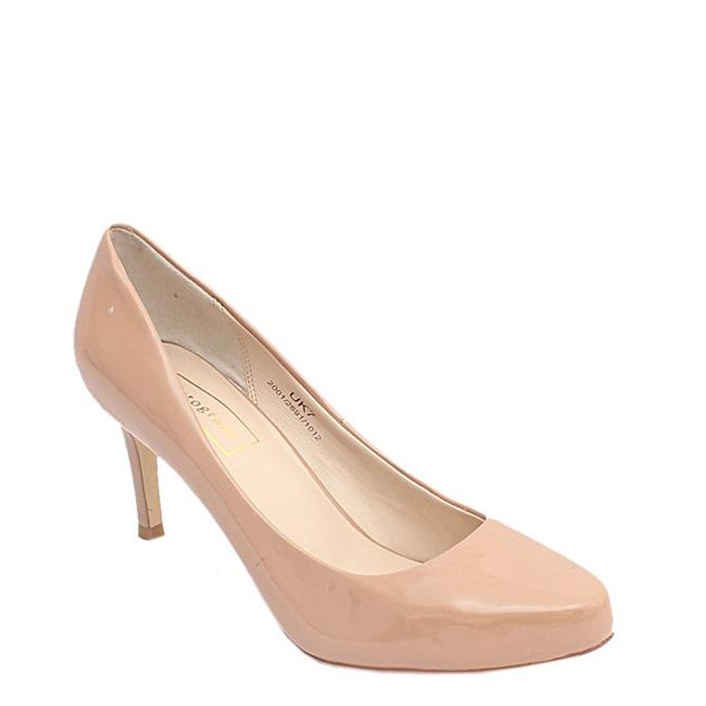 M&S Autograph Beige Ladies Heel Shoe Sz 40.5