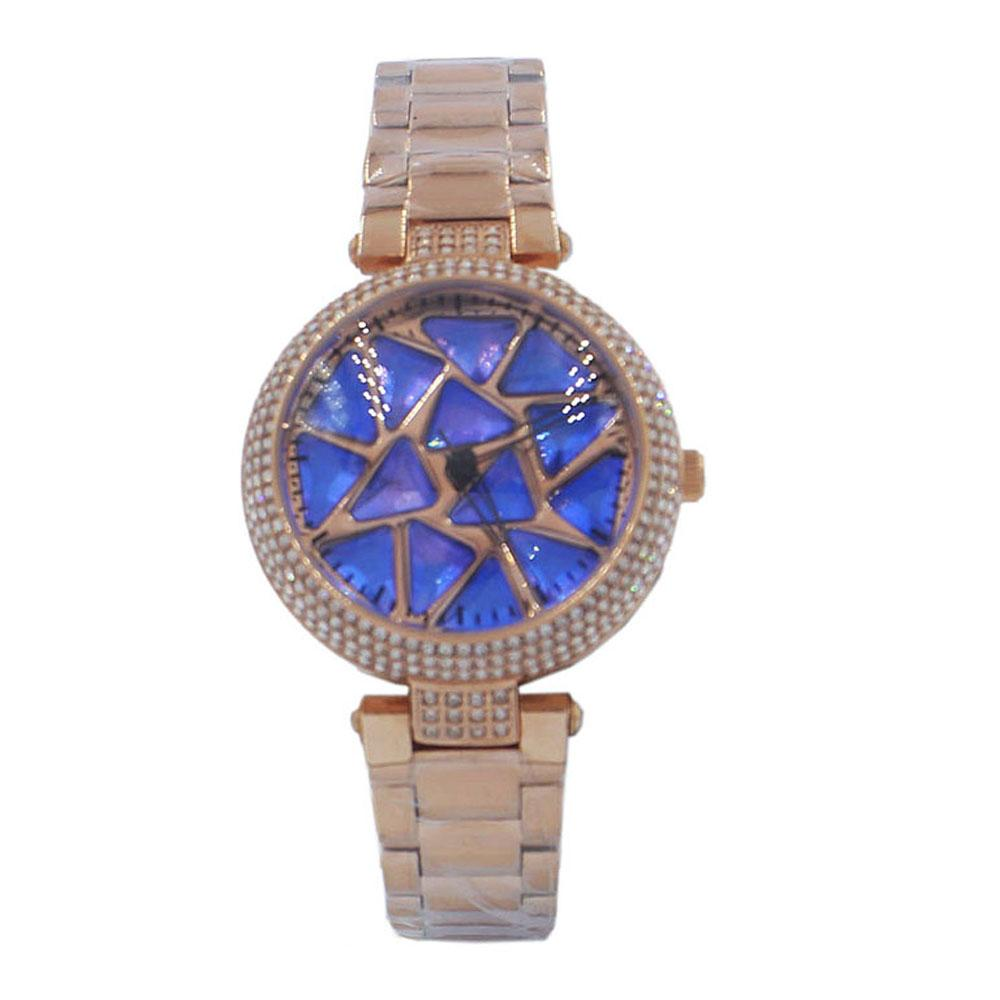 Crystal Studded Spinners Watch