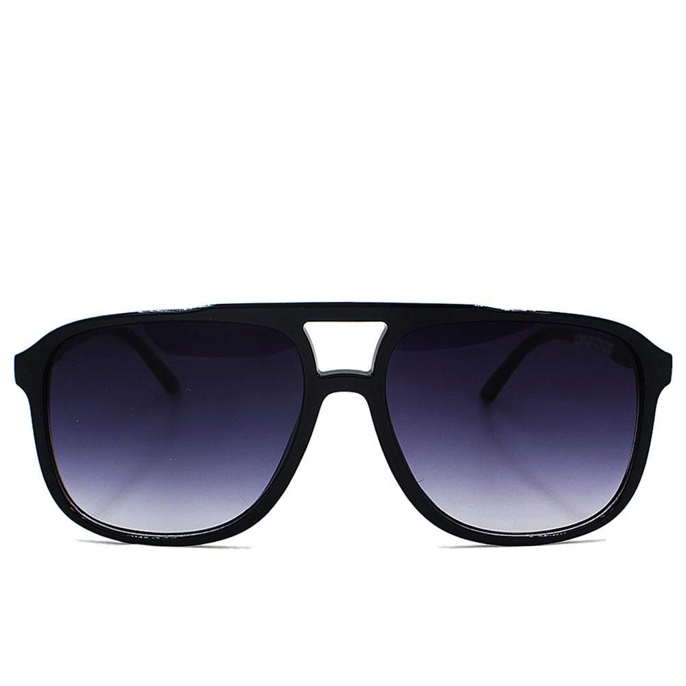 Black Aviator Wide Fit Sunglasses