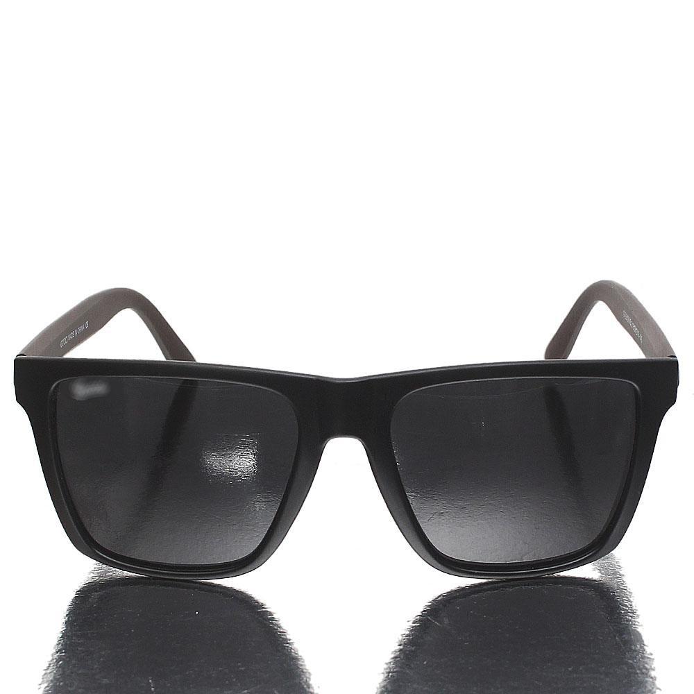 Brown Black Wayfarer Dark Lens Sunglasses