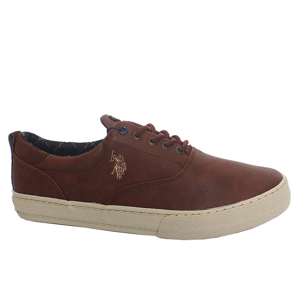 Brown Will Club Leather Sneakers