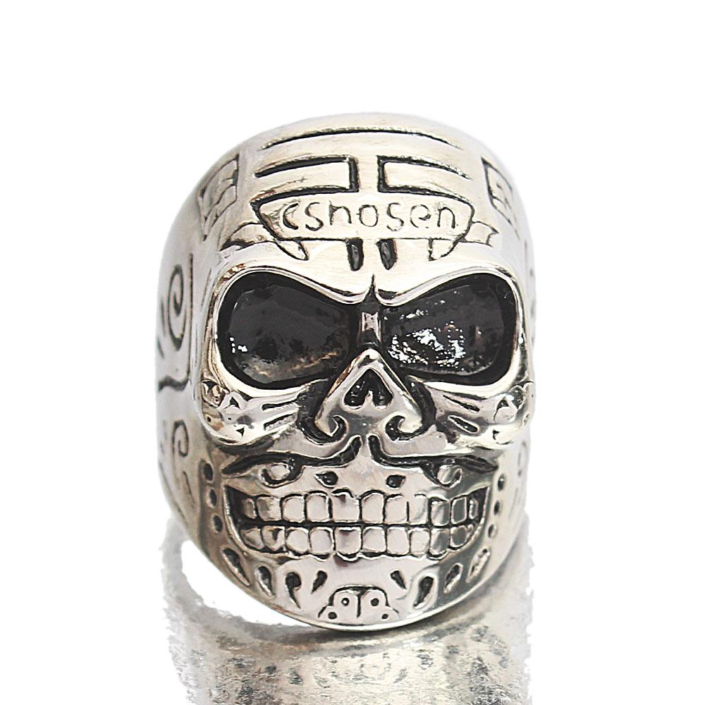Silver Steel Kong Exclusive Ring Sz M