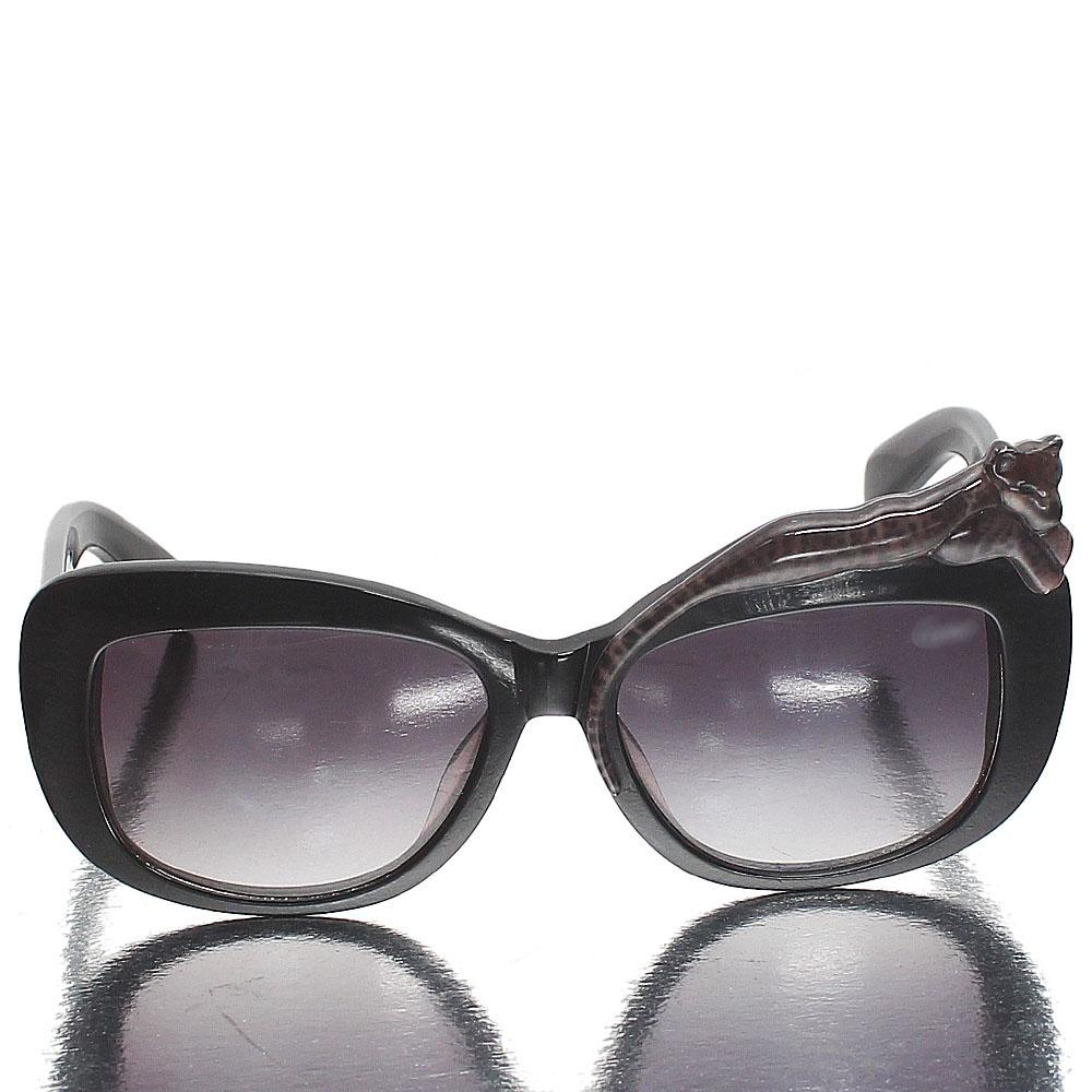 Black Wrap Premium Dark Lens Sunglasses