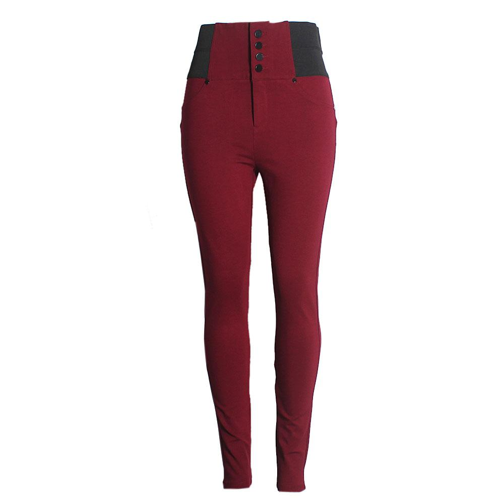 Cisono Wine Ladies Jeggings-XXL