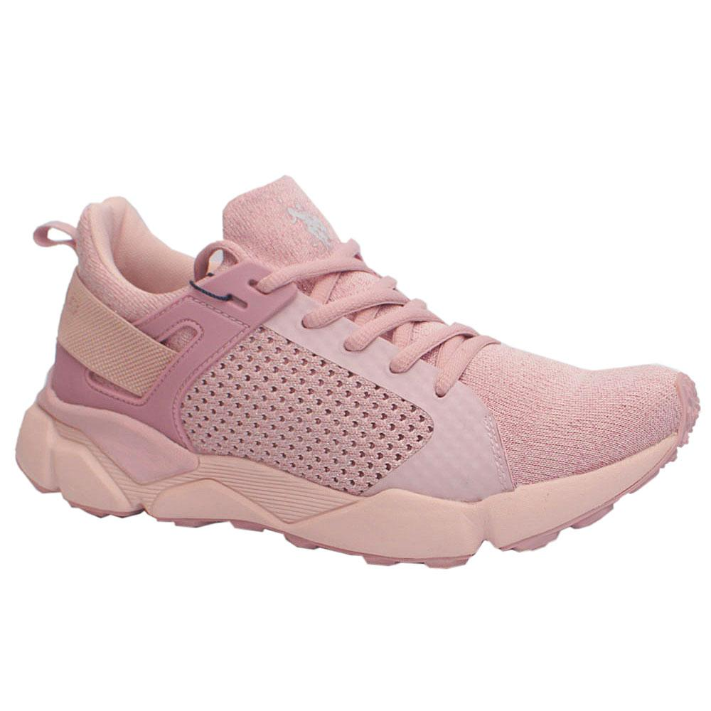 USSPA Pink Breathable Sneakers
