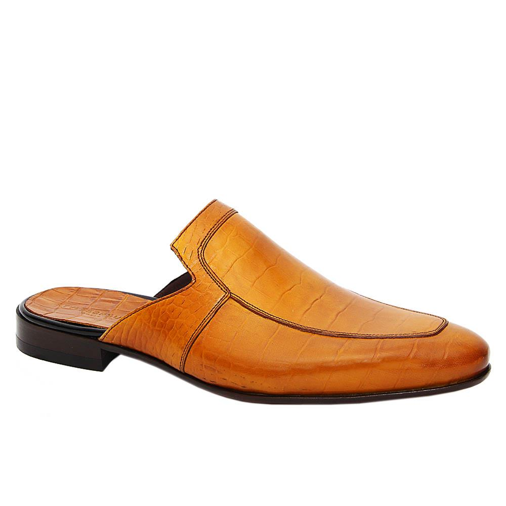 Mustard Yellow Ricardo Italian Leather Half Shoe