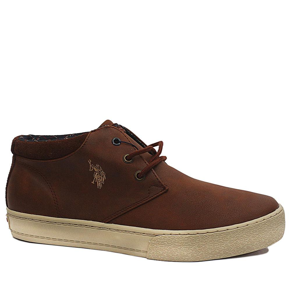 Brown-Wesley-Leather-Ankle-Sneakers