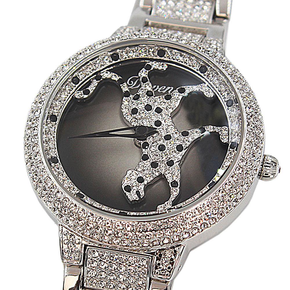 Davena-Cheetah-wt-Austria-Crystals-Steel-Spinner-Watch