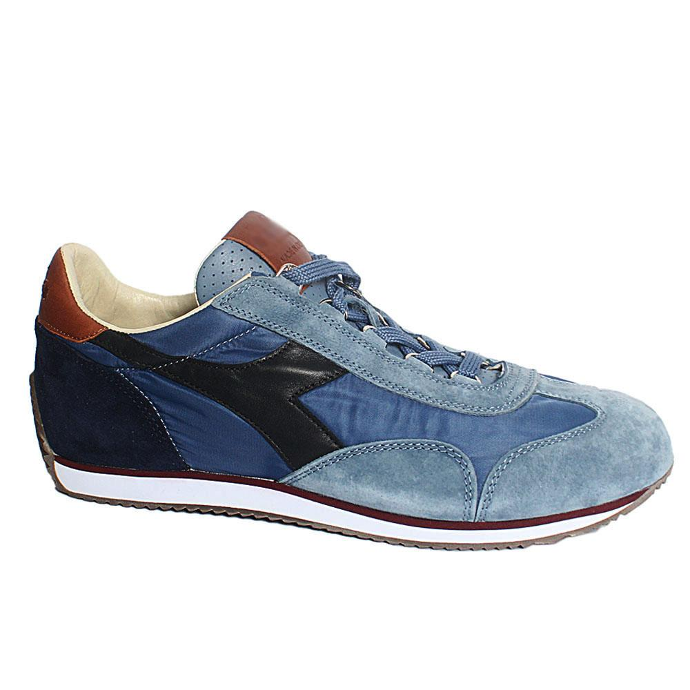 Sky-Blue-Mix-Flint-Stone-Fabric-Suede-Leather-Breathable-Sneakers