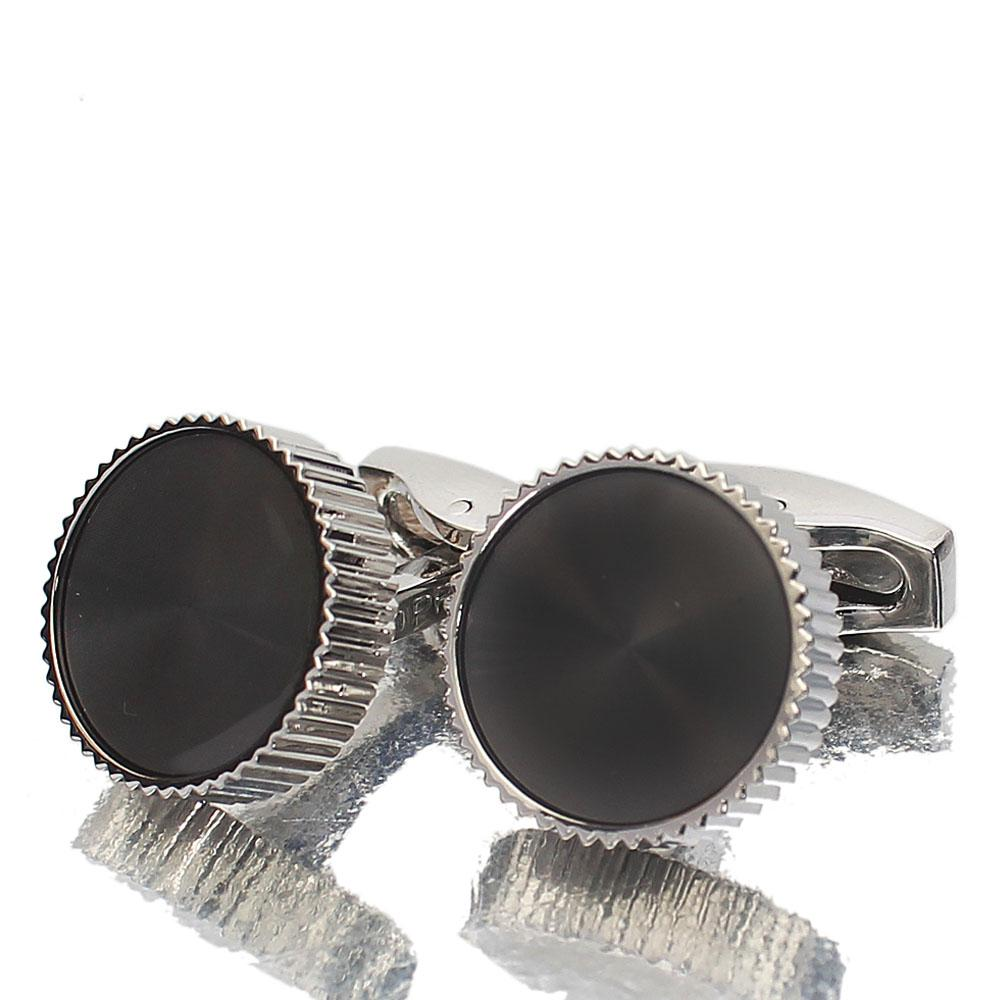 Off Steel Silver Stainless Cufflinks