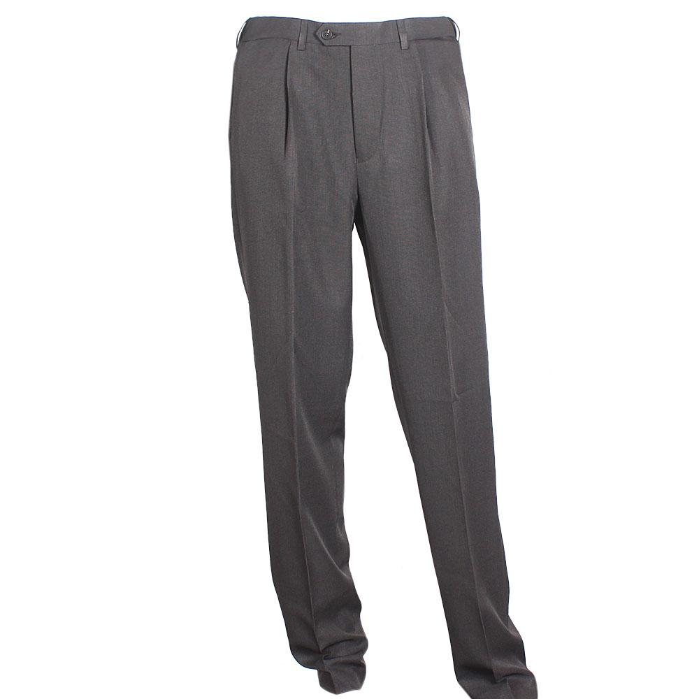 Chocolate Cotton Straight Cut Men Trouser W 32, L 33