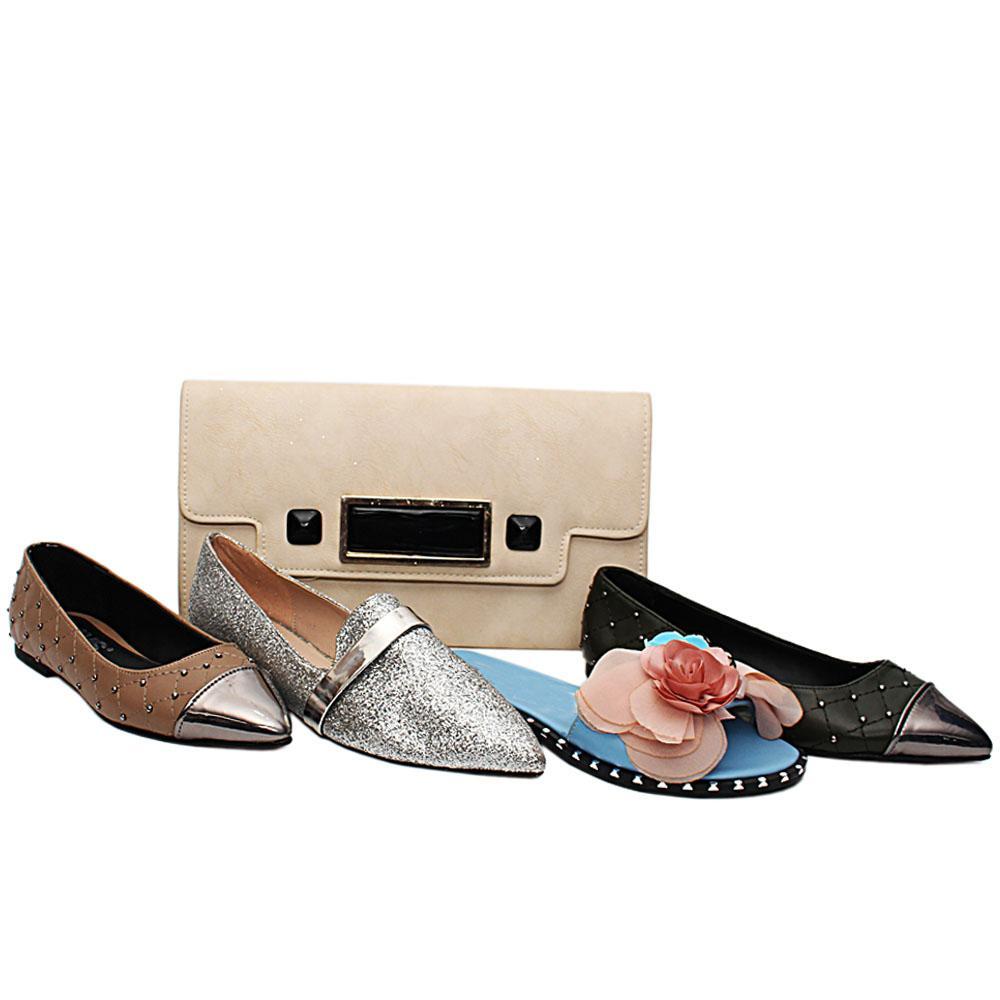 Size 37 Zoe Shoe and Bag Bundle