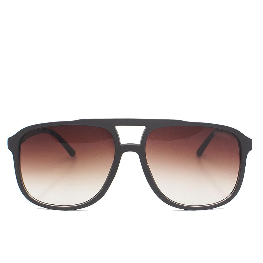Brown Aviator Enamel Wide FSunglasses