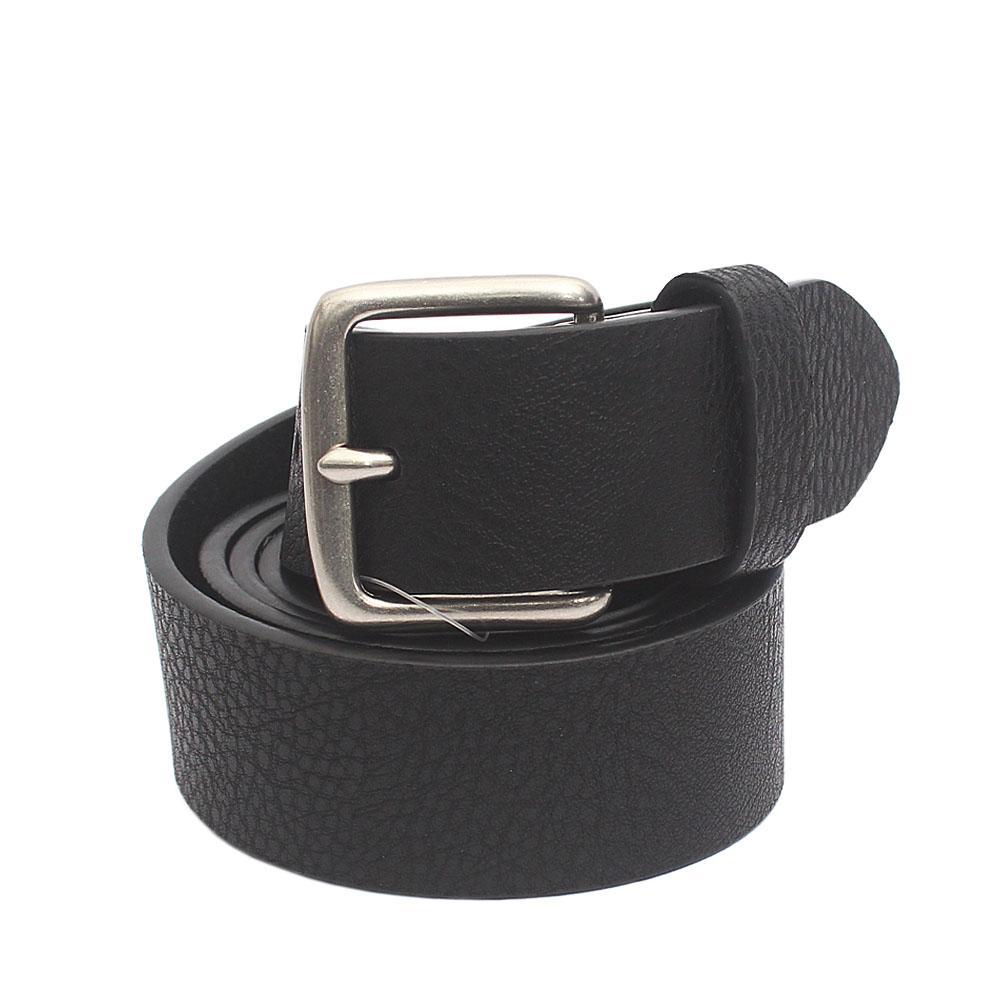 M & S Black Genuine Leather Belt L 40 Inches