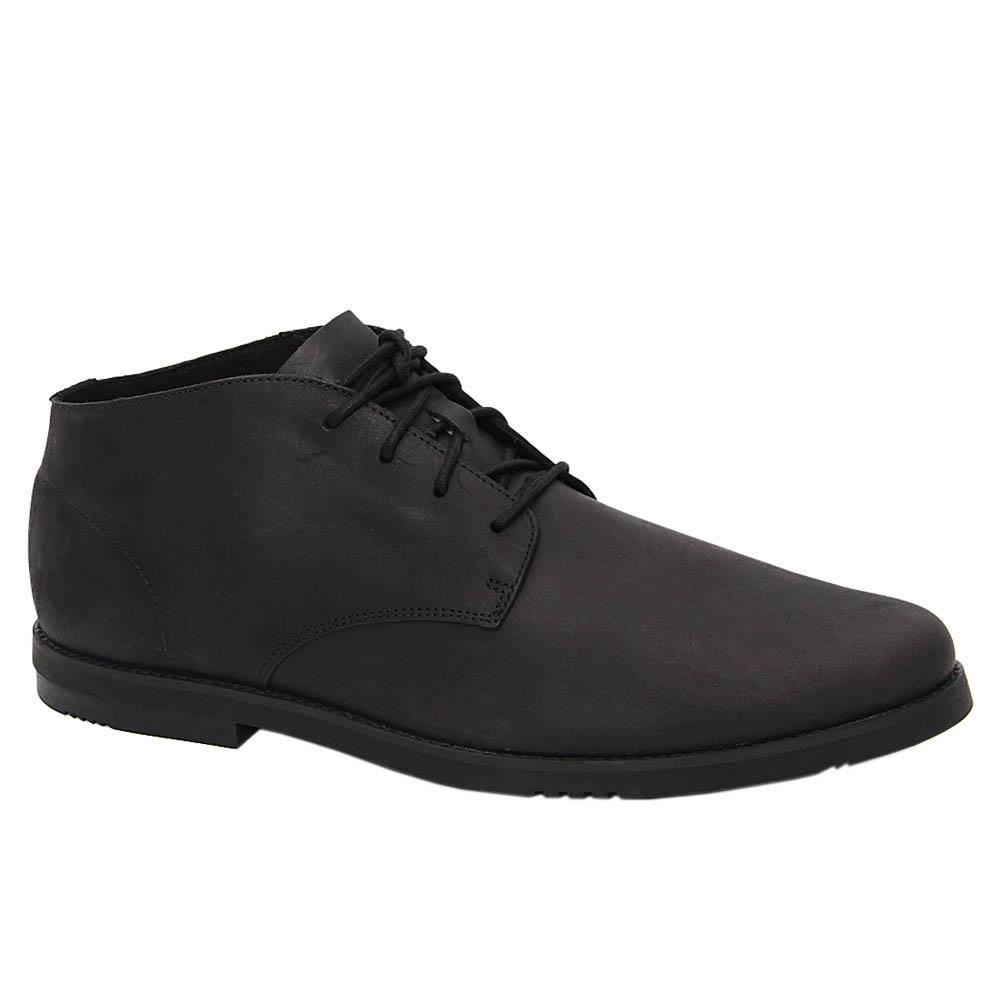 Black Jamie Max Soft Leather Chukka Boot