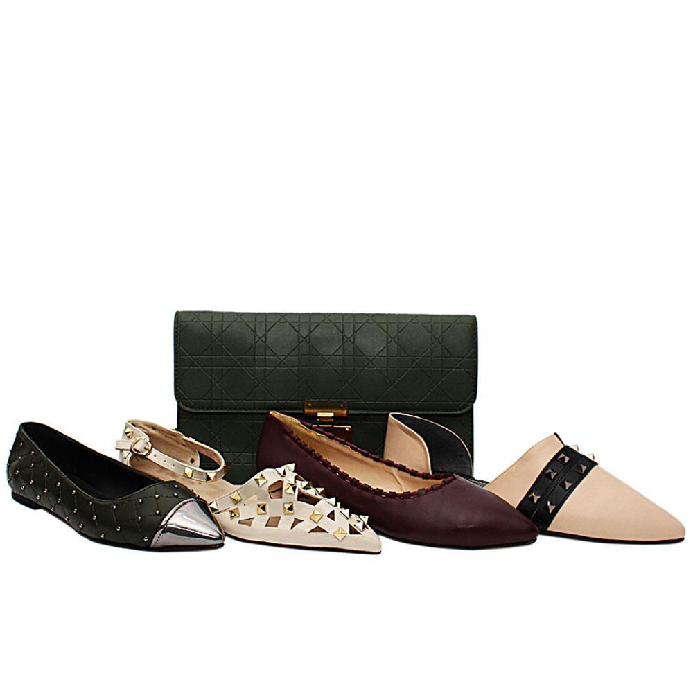 Size 39 Tasha Shoe and Bag Bundle
