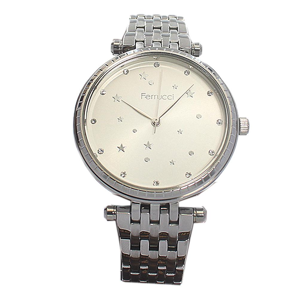 Star Silver Mesh Fashion Ladies Watch
