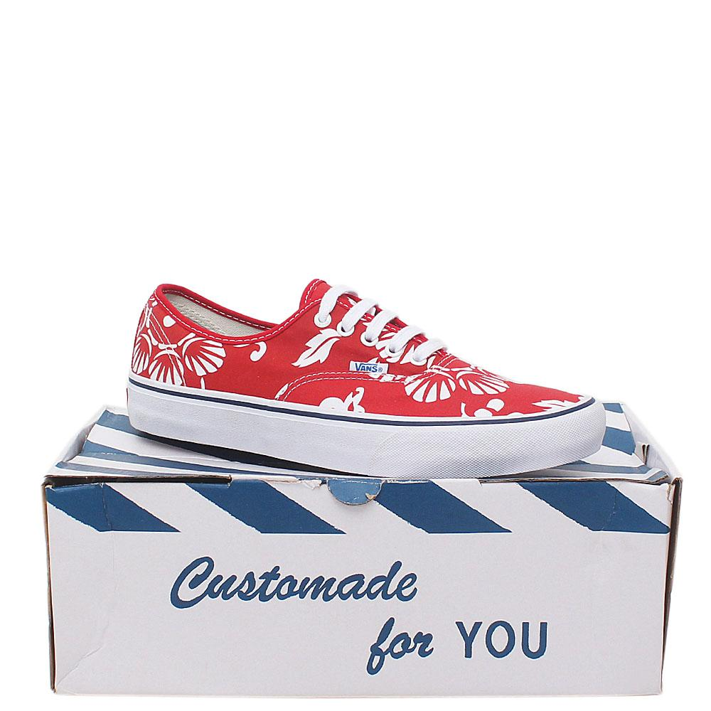 Vans Ultracrush Red Fabric Men Sneaker Sz 43
