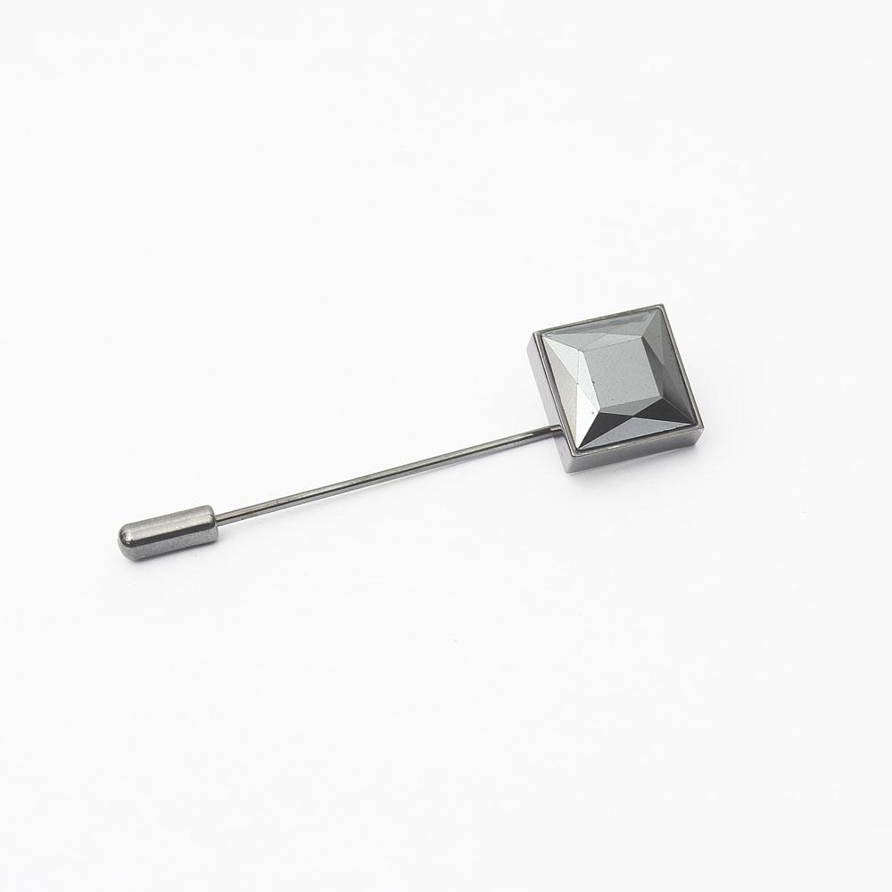 M & S Black Lapel Pin