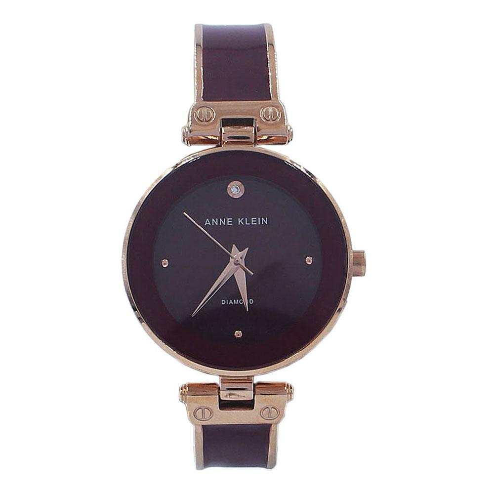 Anne Klein Rose Gold Purple Fashion Ladies Watch