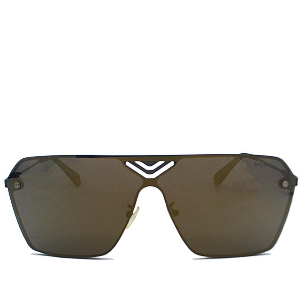 Black Shield Polarized Sunglasses