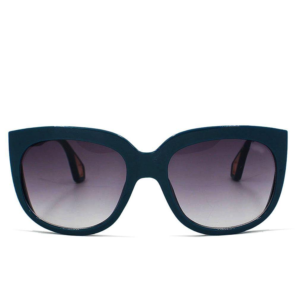 Teal Green Round FOver Sized Sunglasses