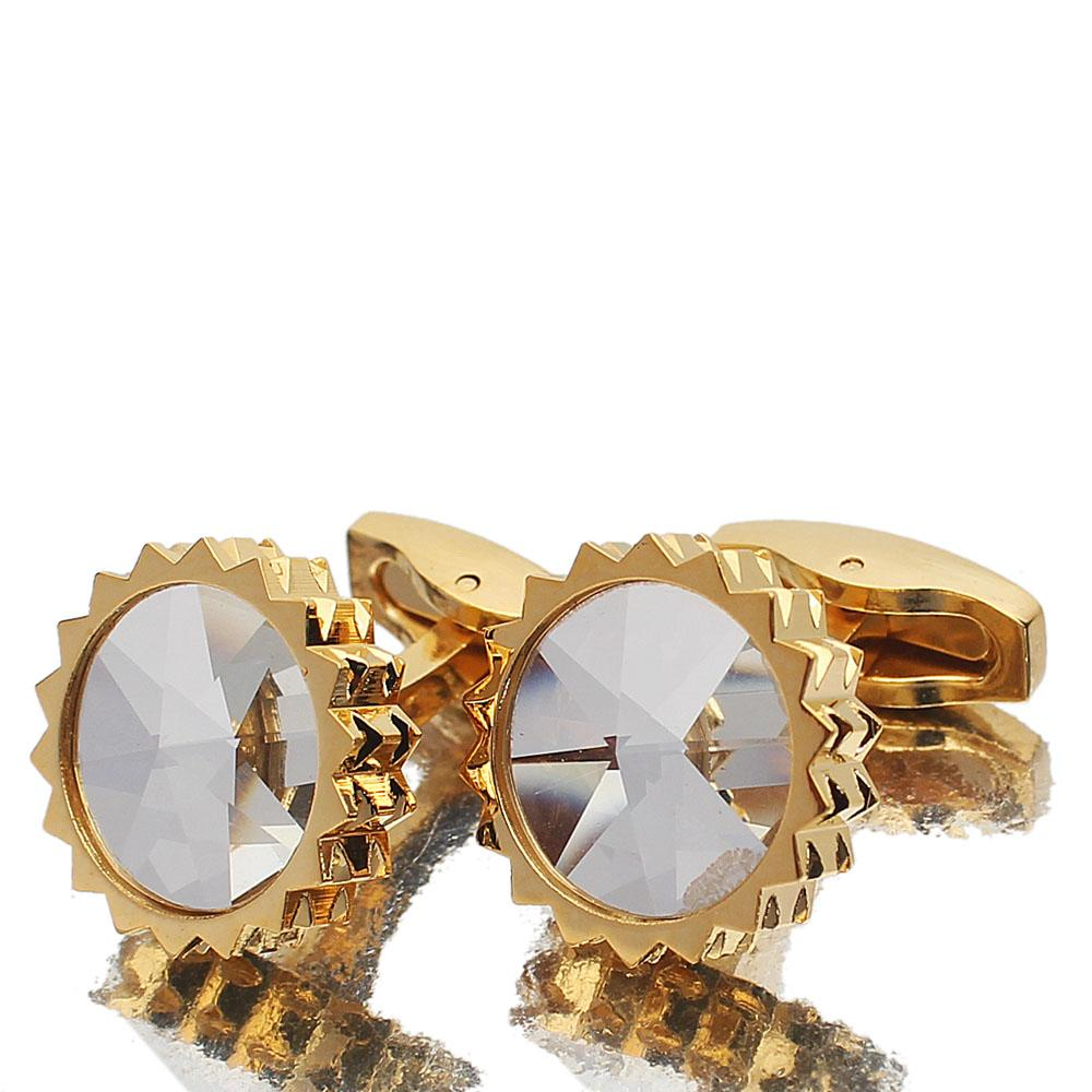 Gold PreciouIce Stainless Steel Cufflinks